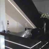Flexibles LED-Aluminiumprofil-Kanal Kurbelgehäuse-Belüftung für LED-Streifen-hellen Stab