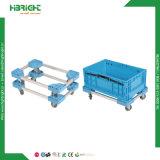 Boîte de rangement en plastique pliable fourre-tout stockage de conteneurs en plastique