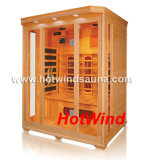 2016 sauna del infrarrojo lejano sitio de madera de la sauna por 3 personas (SEK-C3)
