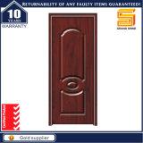 Porte en bois en bois de salle de bains de placage de PVC d'intérieur