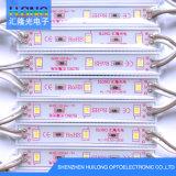Plastica del LED SMD 75*10mm con il modulo della colla 2835 LED
