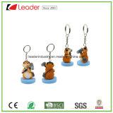 New 3D Zoo Animal Panda Figurine Keychain para Promoção