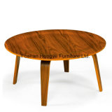 Mesa de café em madeira de estilo europeu Eames Table