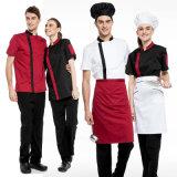 Uniforme 100% del cappotto del cuoco unico di modo degli uomini del cotone