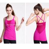 Toute couleur Mesdames entraînement Fitness Gym Sports de 100 débardeur en coton