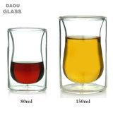 Double paroi en verre borosilicaté Cup / tasse à café/thé / ensembles de verres à boire