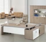 Cabinet à dossier de bureau mixte en bois à faible hauteur avec casiers