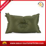 Logotipo quadrado do OEM da forma que reune o descanso confortável inflável da garganta do desengate