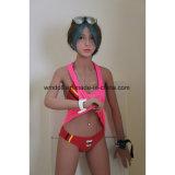 Boneca adulta da boneca do sexo do TPE de Wmdoll 156cm com o bichano real do Vagina