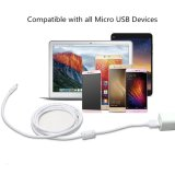 Pvc Insulated Micro USB Charger Cable met Magnetic Ring