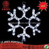 LED-Schneeflocke-Weihnachtslicht für Baum-Dekorationen