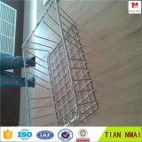 Grado perforada 304 Esterilización Malla de alambre soldado cesta
