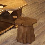 A cadeira moderna a mais atrasada da madeira contínua para a mobília Home viva CH-617