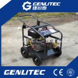 4개의 바퀴를 가진 전기 시작 3600psi 10HP 디젤 엔진 고압 세탁기