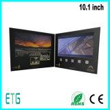熱い販売LCD IPS/HDスクリーンの招待のグリーティングのビデオパンフレット