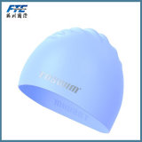 カスタム印刷のシリコーンの水泳帽の防水シリコーンの帽子