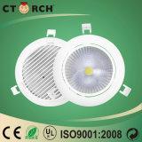 LEDの使用する9W LED Downlight 90mm電球に