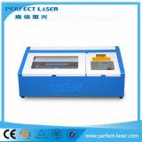 50W 60W CO2 Laserengraver-Scherblock-Maschine für Plastik/Holz