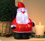 [سنتا] عيد ميلاد المسيح زخرفة [لد] إنارة مع [جغت] صندوق