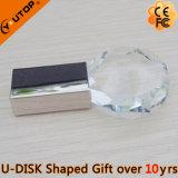 Ручка памяти USB восьмиугольника кристаллический для подарка промотирования (YT-3270-11)