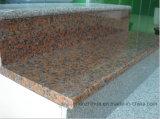 Slabs&Tiles&Countertop&StairのステップのためのG562かえでの赤い花こう岩