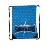 El mejor paquete barato elegante de la honda del bolso de la gimnasia del fútbol para el bolso de lazo de la blanco del recorrido