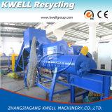 Éclaille en plastique de bouteille d'animal familier de Kwell Chine lavant réutilisant la machine