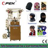 De Breiende Machine van Beanie en van de Sjaal voor de Ventilators van de Voetbal