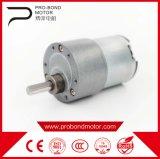 Electric 12V 24V DC impermeable motorreductor con bajas rpm