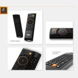 2016 neueste FernsteuerungsMelo F10 2.4GHz drahtlose Luft-Maus Mele F10 PRO für androiden Fernsehapparat-Kasten