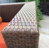 Großhandelsim freienfreizeit-im Freiengarten-Balkon PET Rattan-Sofa