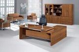 Tableau de bureau exécutif de bossage de forces de défense principale de couleur de cerise/bureau en bois (NS-ND132)