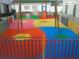 Kleurrijke die Korrel EPDM in Spanje wordt gebruikt