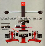 3D'alignement des roues de la machine de voiture