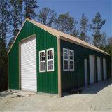 Garage prefabricado de la estructura de acero para la venta