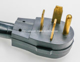 шнур электропитания сушильщика 10/3-Gauge Srdt 30-AMP, 4-Feet, 3-Wire, 125/250V
