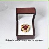 Caixa lustrosa de madeira lustrosa do anel da pintura da caixa de relógio do Sigle Handmade
