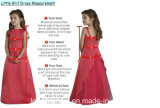 Girl's Pageant Robe de mariée en dentelle Robe de mariée F1715