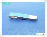 Movimentação nova da pena do USB do couro com garantia de 1 ano (WY-L32)