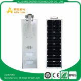 Solarstraßenlaternealles in einem 12V 50W LED Solarlicht-integrierten Straßenlaterne