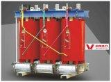 Triphasé multi-enroulement sec transformateur de puissance de type