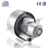 Canal lateral soplador de gas del ventilador para el almacenamiento de máquina para hacer punto