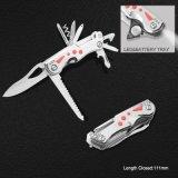 Нож Multi функции высокого качества карманный с электрофонарем СИД