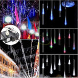 8PC / Set 240LEDs de alta qualidade Garantia de 2 anos Ce RoHS LED Christmas Meteor Shower Rain Tube Lights