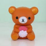 Cinghie aumentanti lente del telefono del fronte dell'orso del giocattolo Squishy sveglio dell'unità di elaborazione