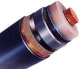 kabel van de Macht van de Leider van het Koper 6/6kv 6/10kv de XLPE Geïsoleerde pvc In de schede gestoken