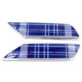 Chrom Speedwell blauer Abwechslungs-Seiten-Lampen-Deckel für Mini Cooper