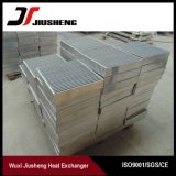 Base de aluminio modificada para requisitos particulares de cambiador de calor de la aleta de la placa del diseño