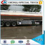 42000liters 42cbm 3の車軸品質のアルミニウム鋼鉄トレーラー