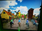 Cheval de Pandan d'oscillation des conduites 3D d'enfants de parc d'attractions mini